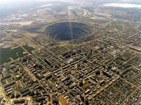 mirny diamond mine 1
