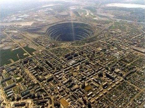 mirny diamond mine 1