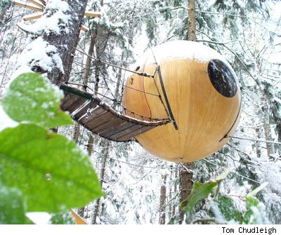 wooden_sphere_house