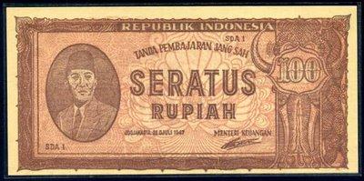 100 rupiah ori 3